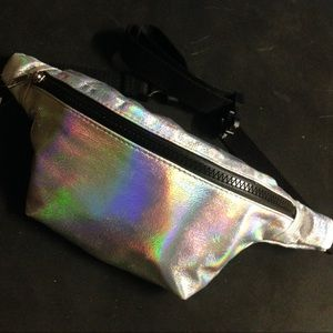 Shiny Silver 👽 Fanny Pack from Tilly's